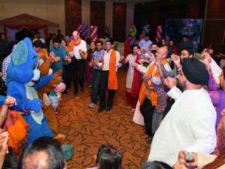 Maersk Family day at Novotel, Mumbai with an Indian Tadka.