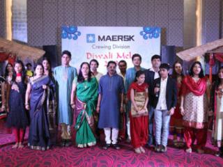 Maersk Diwali Mela, Maersk, Diwali Mela