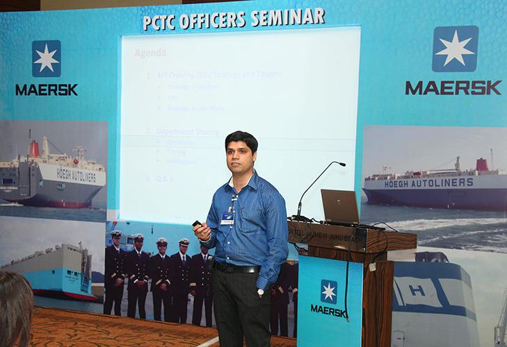 Maersk PCTC Officers Seminar, PCTC Officers Seminar, Maersk
