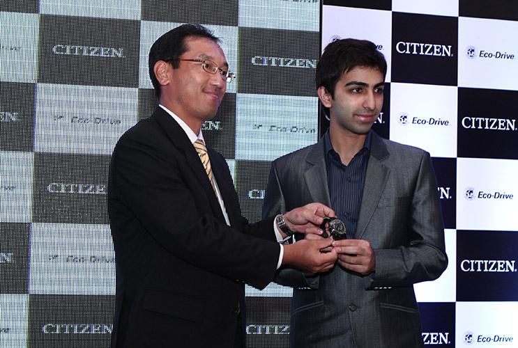 Citizen Watch Launch, Pankaj Advani, Snooker player